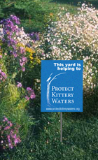 Protect Kittery Waters Watershed Pledge Yard Sign